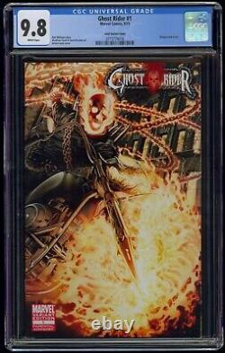 Ghost Rider (2011) #1 Arturo Lozzi Variant Cover CGC 9.8 Blue Label White Pages