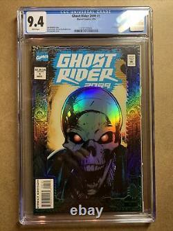 Ghost Rider 2099 #1 CGC Graded 9.4 Prismatic Foil Cover Cyberpunk Marvel 1994