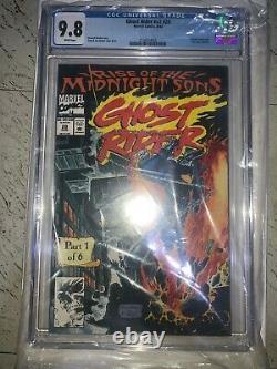 Ghost Rider #28 Midnight Sons Part 1 CGC 9.8 HOT