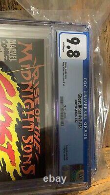 Ghost Rider #28 Midnight Sons Part 1 Cgc 9.8
