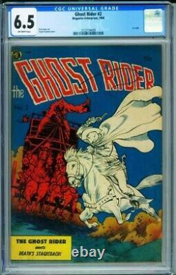Ghost Rider #2 CGC 6.5 1950-ME-Frank Frazetta horror cover-2122154009