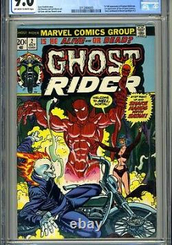 Ghost Rider #2 CGC 9.0 VF/NM 1st full appearance of Daimon Hellstrom! TV Show