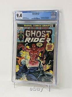 Ghost Rider 2 CGC 9.4 1st appearance Daimon Hellstrom Son of Satan