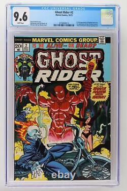 Ghost Rider #2 Marvel 1973 CGC 9.6 1st App of Daimon Hellstrom & Son of Satan