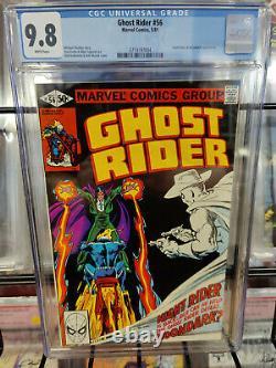 Ghost Rider #56 (1973 Series) Cgc Grade 9.8 Night Rider & Moondark App