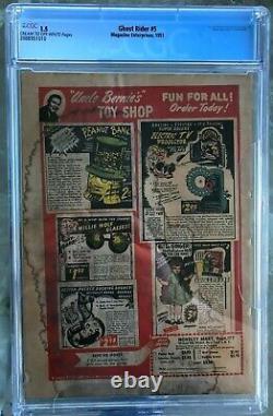Ghost Rider #5 (1951) CGC 1.5 - Frank Frazetta cover Magazine Enterprises