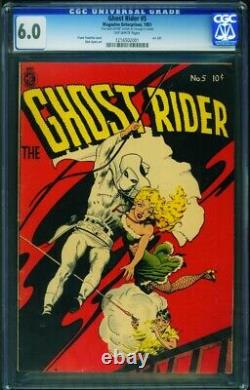 Ghost Rider #5 CGC 6.0 1951-FRANK FRAZETTA-Signed by Ayers 1216502001