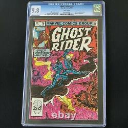 Ghost Rider #76 (1983) CGC 9.8 Johnny Blaze vs Zarathos! Mephisto Marvel