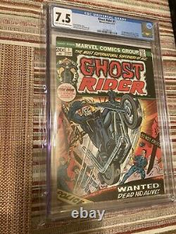 Ghost Rider First Appearance of the Son of Satan (1973). CGC Graded 7.5
