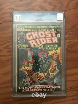 Ghost Rider Marvel Spotlight #5 (1972) and Ghost Rider #1 (1973)
