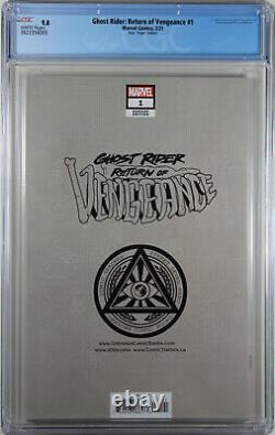 Ghost Rider Return Of Vengeance #1 (hotz Virgin Variant) Cgc Graded 9.8 Nm/m