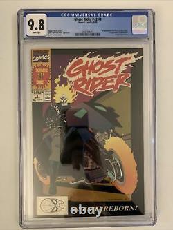Ghost Rider V2 #1 CGC 9.8 Firat App Dan Ketch, Deathwatch