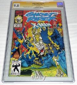 Ghost Rider #v2 #26 CGC SS Dual Signature Autograph STAN & JIM LEE X-Men App