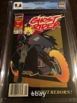Ghost Rider vol. 2 #1 CGC 9.6 Newsstand! White Pages! 1st appearance Dan Ketch