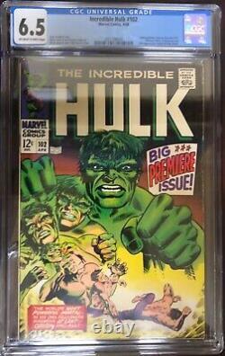 Hulk 102, Black Panther 1, Moon Knight 1, Thor 337 + Marvel Premiere 28. All CGC