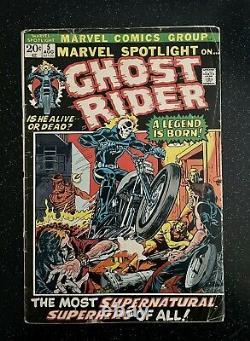 MARVEL SPOTLIGHT 5 1st GHOST RIDER Johnny Blaze! CGC it! 1972 HOT KEY BOOK