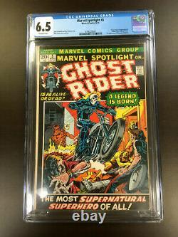 MARVEL SPOTLIGHT #5 CGC 6.5 1st Appearance & Origin of GHOST RIDER