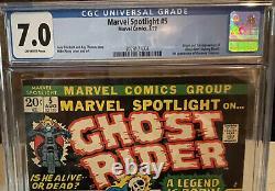 MARVEL SPOTLIGHT #5 CGC 7.0 1st Appearance of GHOST RIDER