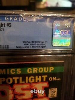 MARVEL SPOTLIGHT #5 CGC 7.0 1st GHOST RIDER JOHNNY BLAZE
