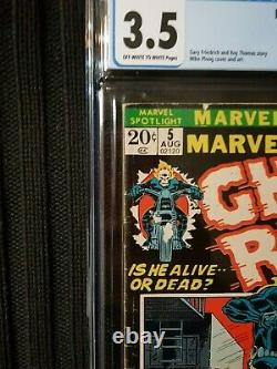 MARVEL SPOTLIGHT #5 ORIGIN AND 1ST APPEARANCE OF GHOST RIDER, OWithW PAGES, BEAUTY