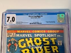 MARVEL SPOTLIGHT #6 CGC 7.0 WHITE PAGES 2nd APPEARANCE GHOST RIDER ORIGIN RETOLD