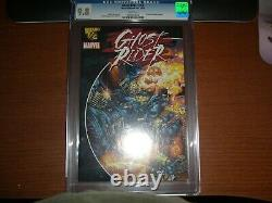 Marvel Comics Ghost Rider #1/2 (2001) Cgc Graded 9.8 Mail Away White Pages
