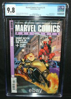 Marvel Comics Presents #6 Wolverine, Deadpool, Ghost Rider CGC 9.8 1988