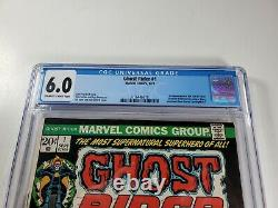 Marvel Ghost Rider #1 1973 CGC 6.0 First Solo title of Ghost Rider