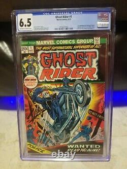 Marvel Ghost Rider #1 CGC 6.5 FN/VF LAST ONE