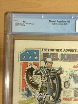 Marvel Premiere #28 CGC 9.0 OW-W pages 1st appearance of Legion of Monsters