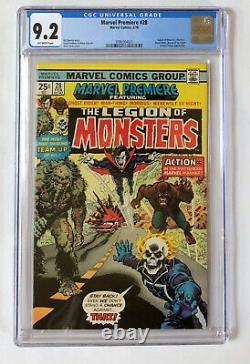 Marvel Premiere #28 CGC (9.2 Blue Label) 1st Appearance of LEGION OF MONSTERS