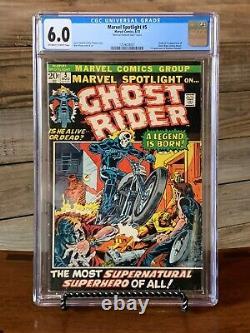 Marvel Spotlight 5 1st Ghost Rider SUPER RARE National Diamond Insert Variant