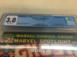 Marvel Spotlight #5 1st apperance of Ghost Rider Graded 3.0 CGC