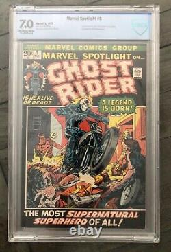 Marvel Spotlight #5 CBCS 7.0 OWithW Pages. Like CGC. Origin and 1st Ghost Rider