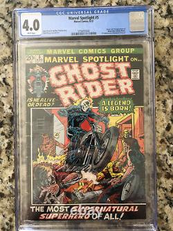 Marvel Spotlight 5 CGC 4.0 First Appearance Ghost Rider