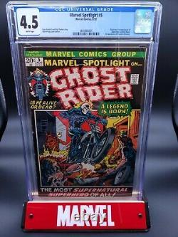 Marvel Spotlight #5 CGC 4.5 WP 1st Appearance Ghost Rider Johnny Blaze (1972)