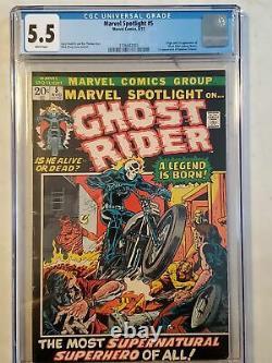 Marvel Spotlight #5 CGC 5.5 1st Appearance of Ghost Rider