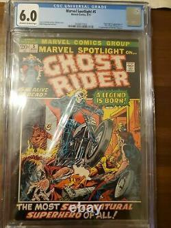 Marvel Spotlight #5 CGC 6.0 1st Appearance of Ghost Rider