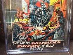 Marvel Spotlight #5 CGC 6.0 OW to White pages Origin and 1st Ghost Rider Blaze
