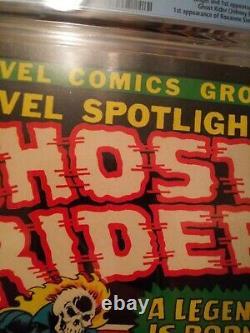 Marvel Spotlight #5 CGC 6.0 OWithW Origin & 1st App of Ghost Rider NEEDS A PRESS