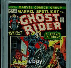 Marvel Spotlight 5 CGC 6.5 1972 1st Ghost Rider Amricons S3