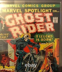 Marvel Spotlight 5 CGC 6.5. 1st Ghost Rider! Johnny Blaze. 1972. Hot comic