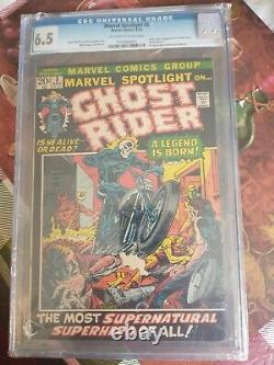 Marvel Spotlight #5 CGC 6.5 1st Ghost Rider Major Key