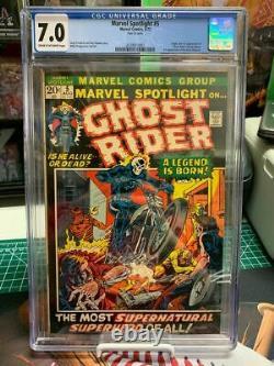Marvel Spotlight #5 CGC 7.0 1st Appearance Johnny Blaze Ghost Rider