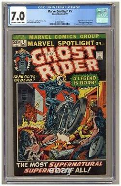 Marvel Spotlight #5 (CGC 7.0) Origin/1st app. Ghost Rider (Johnny Blaze) B563