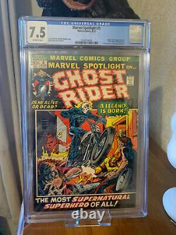 Marvel Spotlight 5 CGC 7.5 OW