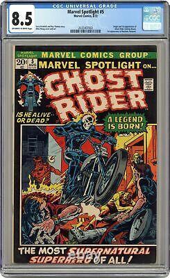 Marvel Spotlight #5 CGC 8.5 1972 2032407003 1st app. And origin Ghost Rider