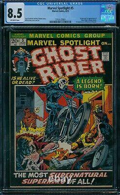 Marvel Spotlight 5 CGC 8.5 1st Ghost Rider