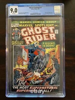 Marvel Spotlight #5 CGC 9.0 1st appearance and origin of Ghost Rider