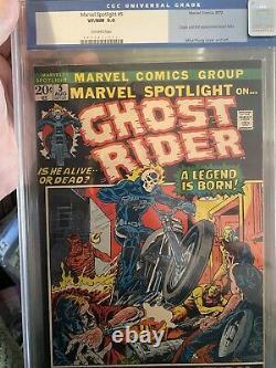 Marvel Spotlight 5 CGC 9.0 Old Label